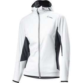 Löffler WS Light Capuchon Jas Dames, white